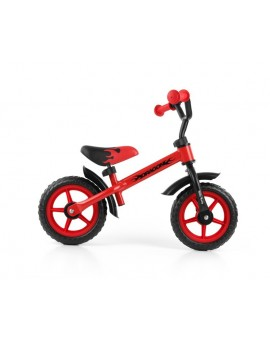 Bicicleta fara pedale Dragon red