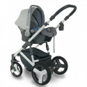 Carucior copii 3 in 1 Bexa Ideal Amo Silver