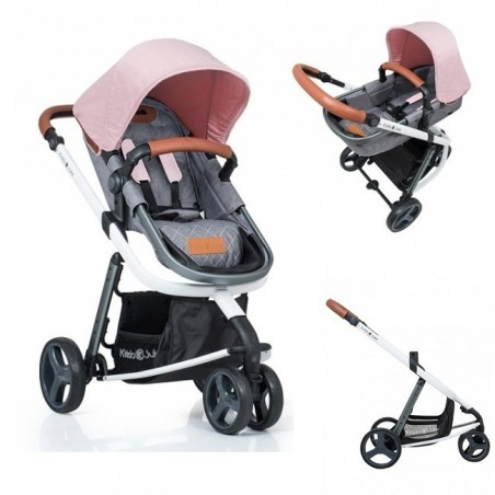 Carucior Kiddo Juke 2 in 1 Rose