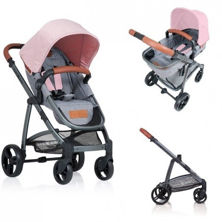 Carucior Kiddo Jazz 2 in 1 Rose