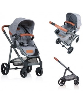 Carucior Kiddo Jazz 2 in 1 Stone Brown