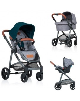 Carucior Kiddo Jazz 3 in 1 Deluxe Emerald
