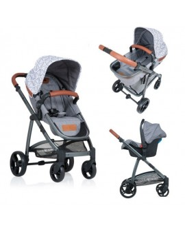 Carucior Kiddo Jazz 3 in 1 Transformabil Triangle