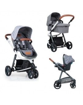 Carucior Kiddo Juke 3 in 1 Deluxe Triangle