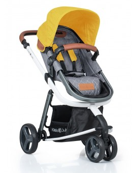 Carucior Kiddo Juke 3 in 1 Deluxe Lemon