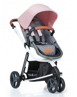 Carucior Kiddo Juke 2 in 1 Transformabil Rose
