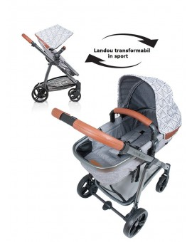 Carucior Kiddo Jazz 2 in 1 Triangle