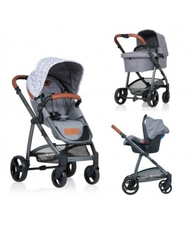 Carucior Kiddo Jazz 3 in 1 Deluxe Triangle