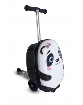 Trotineta pliabila cu rucsac, Flyte scooter & case, Polly the Panda, + 3 ani