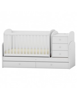 Patut multifunctional Baby & Junior White