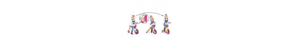 TROTINETA COPII TRANSFORMABILA 2in1 Scoot & Ride HighwayBaby+, 1-4 ani